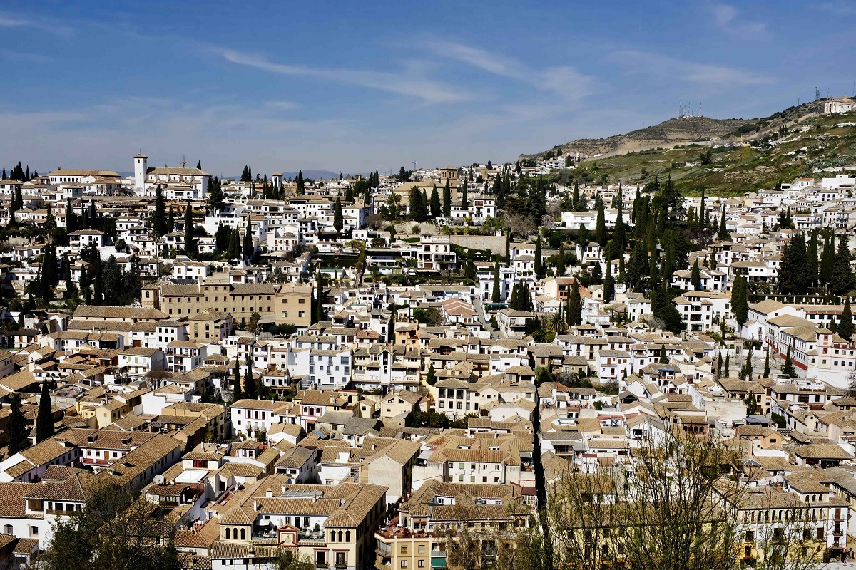Pretty cities in Andalusia