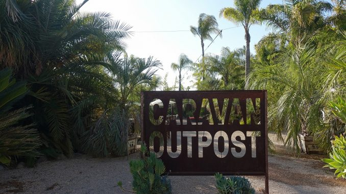 Entrance to Caravan Outpost