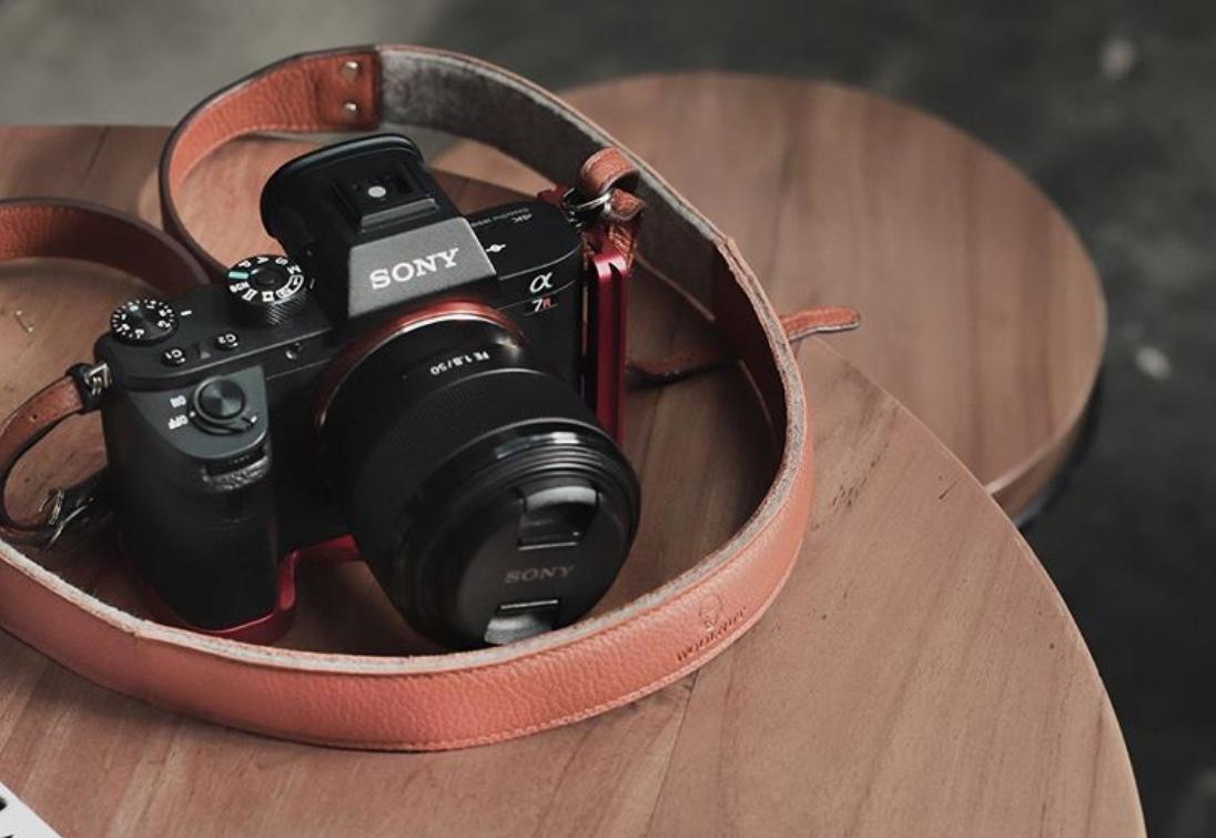 Woolnut Camera Strap
