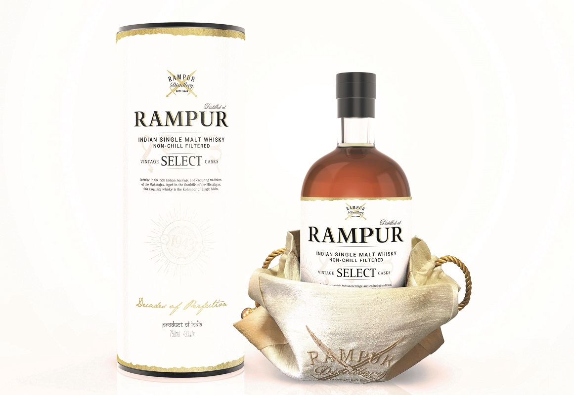 Rampur Single Malt Whisky for World Whisky Day