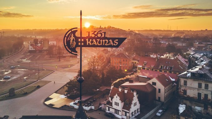 The city of Kaunas