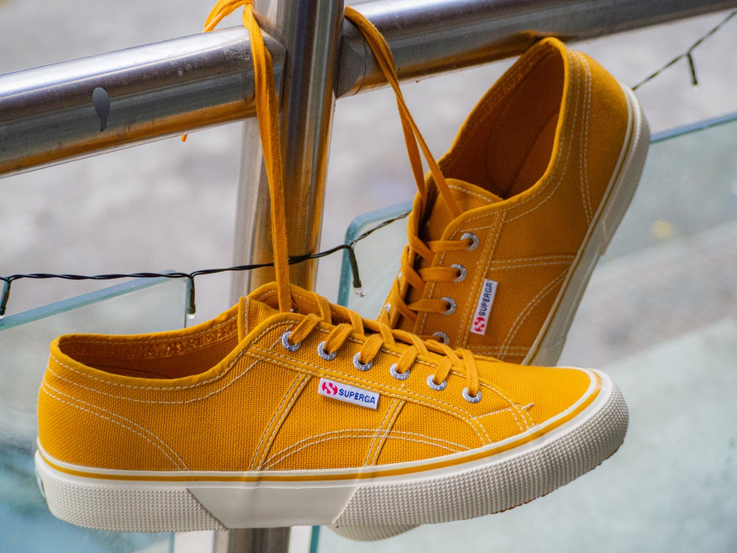 Golden Yellow Superga Shoes
