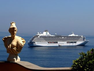 Crystal Serenity in Sorrento