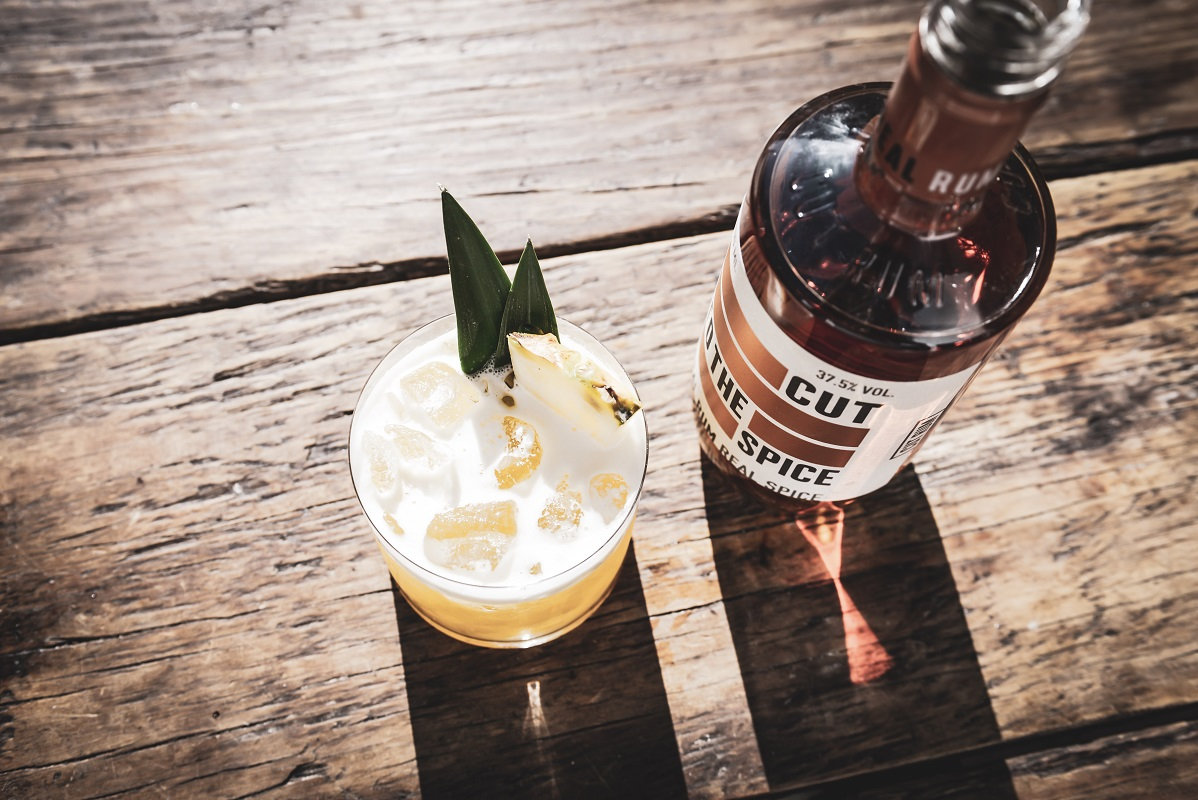CUT SPICED RUM Pineapple Express for Rum Day