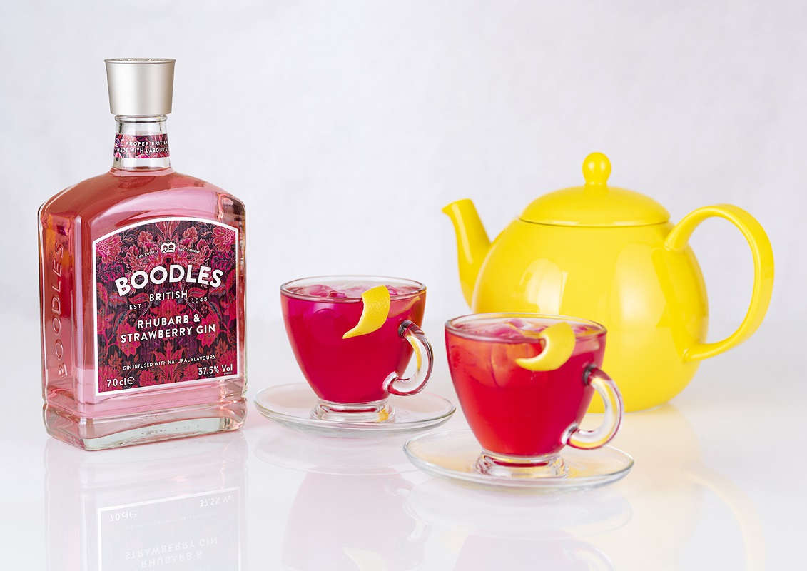Boodles Rhubarb and Strawberry Gin