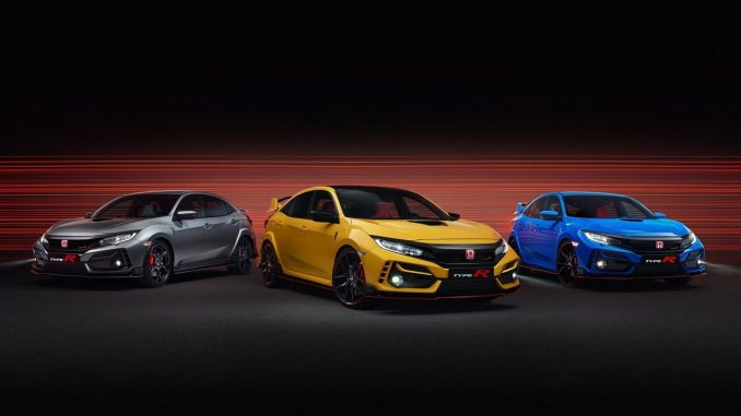 2020 Civic Type R expanded range