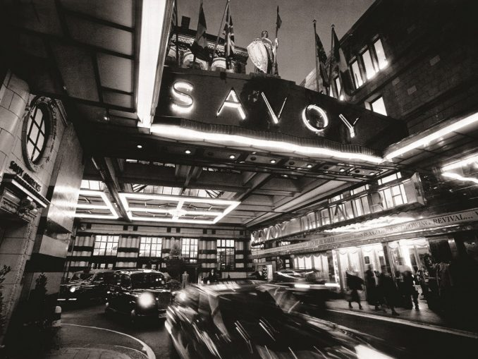 The Savoy Entrance on The Strand