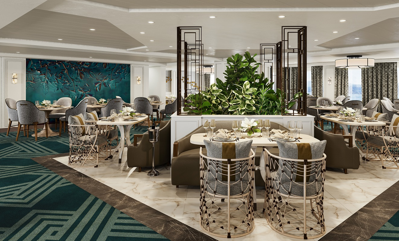 American Cruise Lines Dining Room