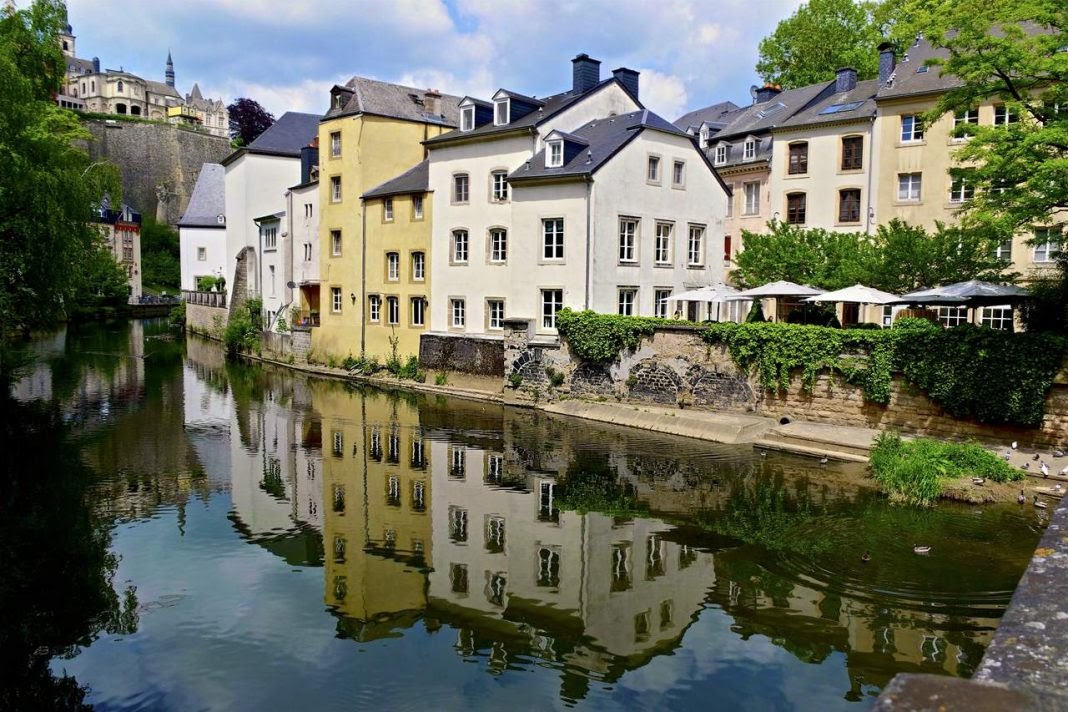 Vielle Ville in Luxembourg