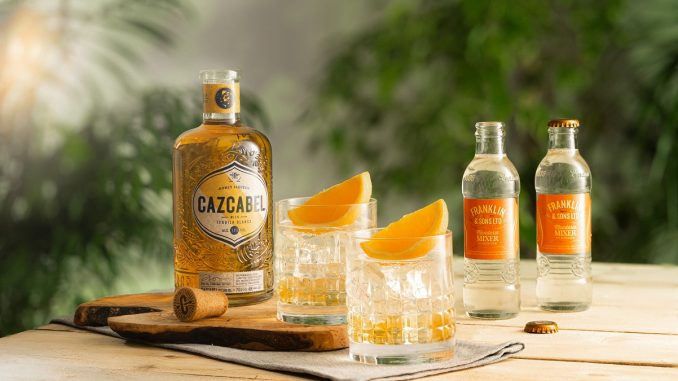 Cazcabel Honey & Mandarin Paloma Mother's Day cocktail