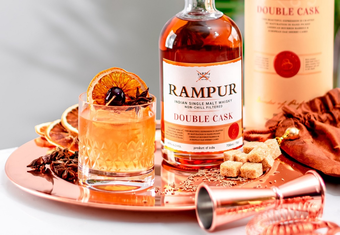 Rampur Double Cask - Old Fashioned